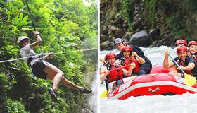 Arenal Mambo Combo Canyoning Rafting Adventure