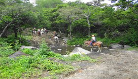 Borinquen Guanacaste Combo horseback riding to waterfall Costa Rica