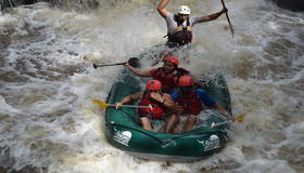 Pure Adrenaline rafting with Desafio.