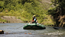 Visit Guanacaste and go fishing on the Tenorio River in Costa Rica