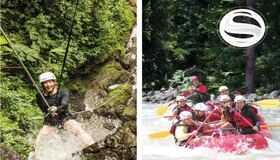 SUPER Mambo Combo Canyoning Rafting