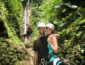Romantic moments on your Costa Rica honeymoon with Desafio.