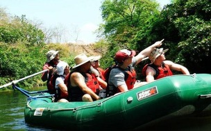 Safari float on the Tenorio River in Guanacaste