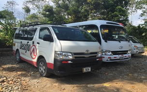 Best aiport transfer to Liberia airport Costa Rica with Desafio.