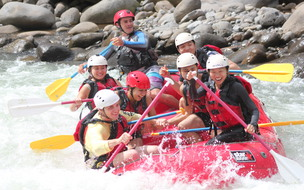 The best canyoning and whitewater rafting combo in Costa Rica with Desafio Mambo Combo