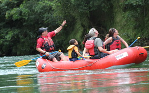 The best Jungle Safari Float with Desafio Adventure Company from San Jose.