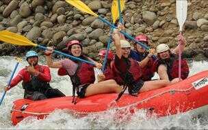San Jose OneDay Tour Rafting Sarapiqui River 3-4