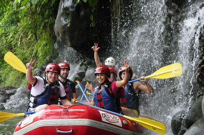 A very private whitewater rafting experience with Desafio in Costa Rica.