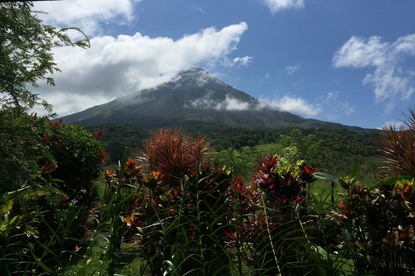 Beautiful views on the Arenal Combo tour with Desafio.