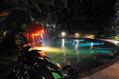 Beautiful Arenal hot springs at Paradise