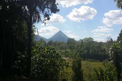 Nice hike of the Arenal Volcano National Park Peninsula.