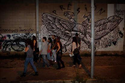 San Jose city tour at night