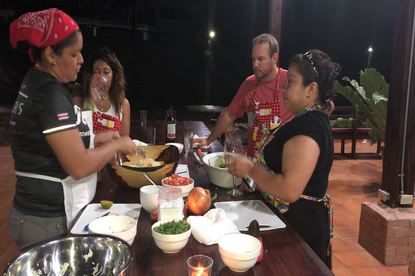 Cook like a local and then learn how to dance with us!