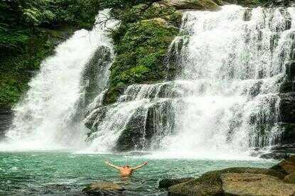 Nauyaca Waterfall tour in Domincal Costa Rica is a must.