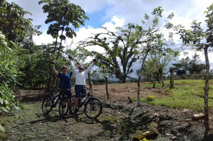 Biking in Costa Rica is amazing!