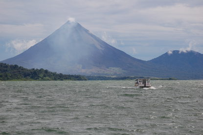 Relaxing Boat Tour on Lake Arenal transport to lake included