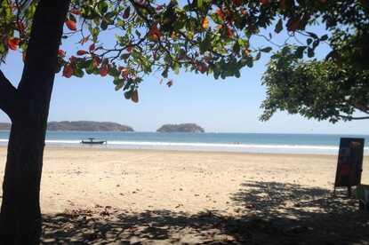 Samara beach is the beach next door when you stay at Nammbu.