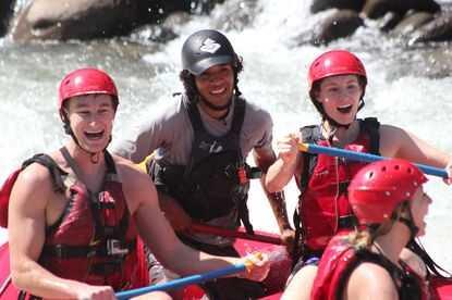 So much fun on a private rafting trip in Costa Rica.