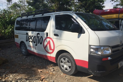 The best shuttle from La Fortuna to Tamarindo.