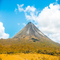Get up close and personal with the majestic Arenal Volcano as you stay in La Fortuna for this adventurous Costa Rica Weekend Warrior all inclusive vacation package.