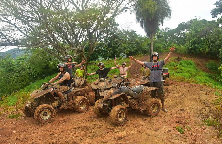 The best ATV riding in Jaco.
