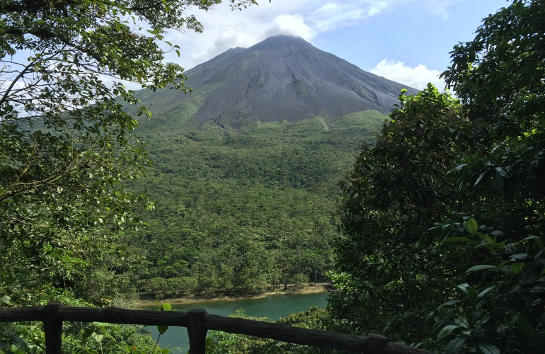 See the Arenal Volcano on the Arenal ATV tour with Desafio.