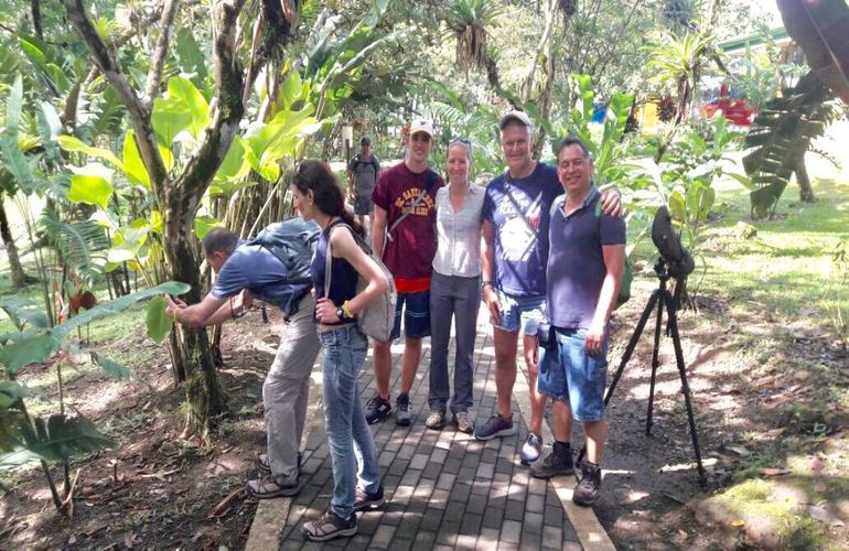 The best wildlife viewing at Arenal Hanging Bridges!
