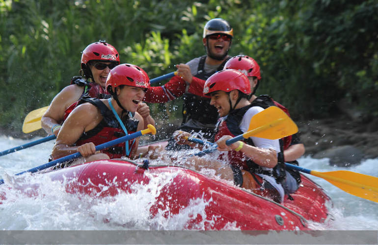 Arenal to Manuel Antonio Rafting