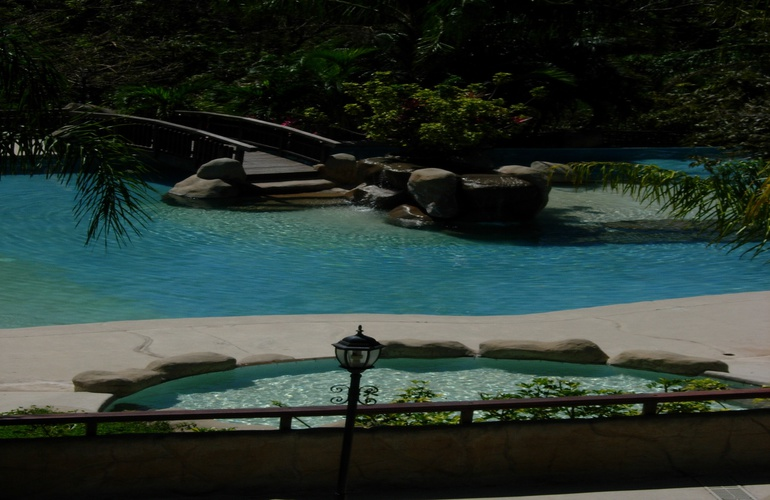 Borinquen Mountain Resort and Spa recreational areas, pool, and hot springs