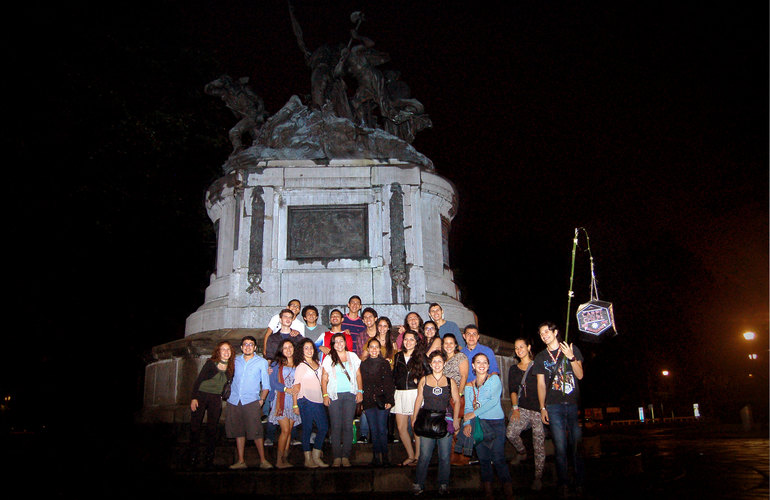 Night Lights City Sights Carpe Chepe San Jose pub crawl and city tour at night