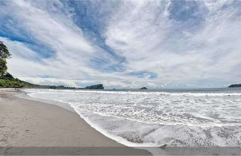 Costa Rica Coast to Coast Beach