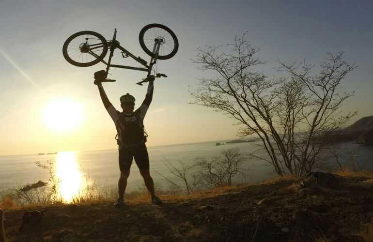 Costa Rica biking fun in the sun.