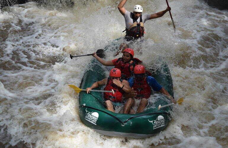 Pure Adrenaline rafting with Desafio.