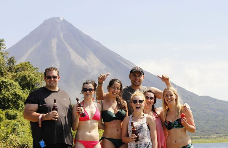 Weekend Warriors at the Arenal Volcano in Costa Rica with Desafio.