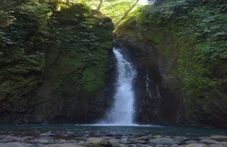 Hidden Rainforest Waterfall and School Visit