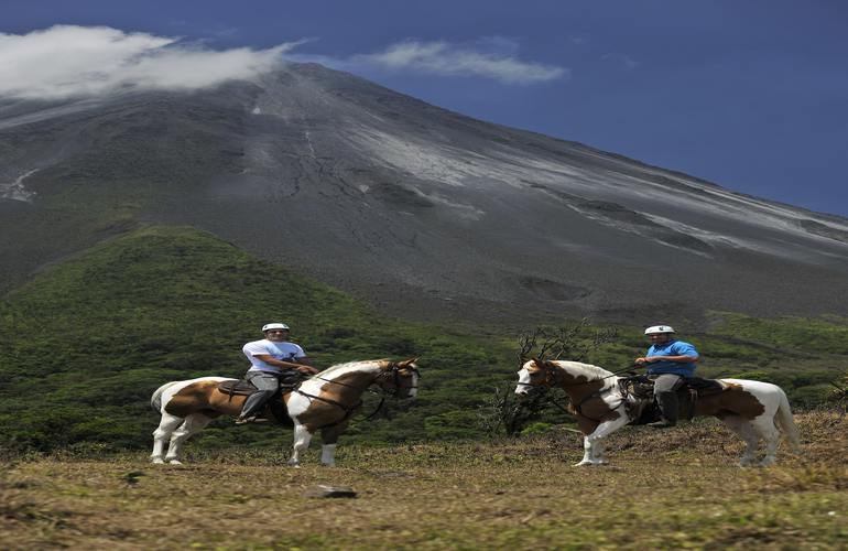 Enjoy a super fun horseback ride along the foothills of the Arenal Volcano.