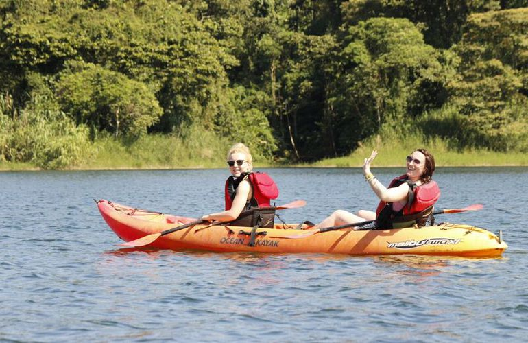 Kayaking in Costa Rica is amazing!