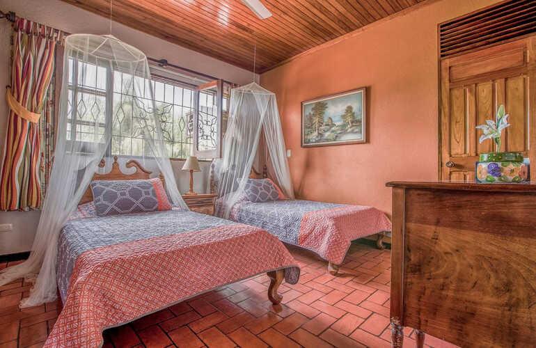 Get a taste of classic, rustic Cosat Rica at this luxury AirBnB villa near La Fortuna.