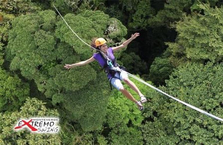 Monteverde Extremo Park COMBO Zipline, Swing and Bungee Jump in Costa Rica