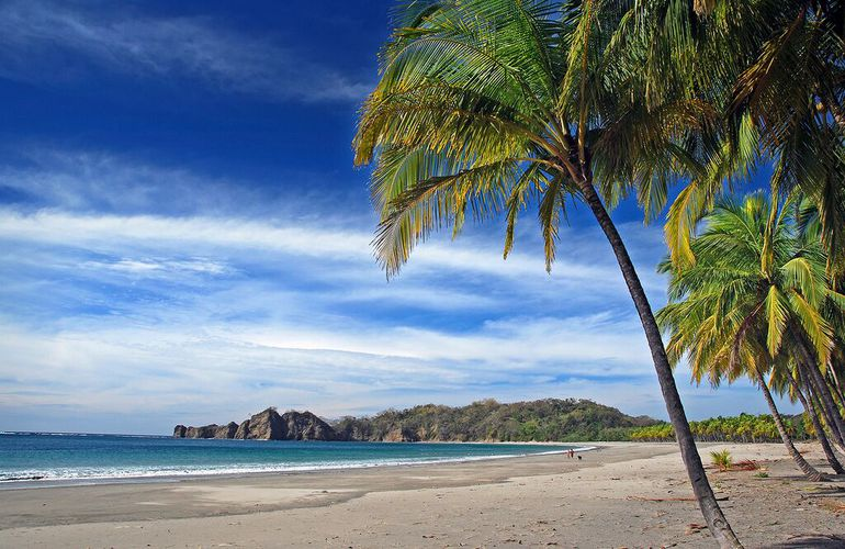 Stay at Nammbu on Carrillo beach, one of the most beautiful beaches in Costa Rica.