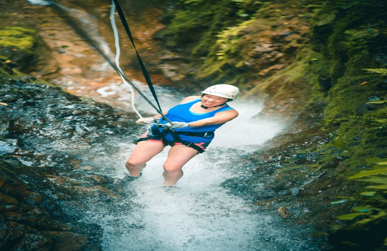 Let the adrenaline of the adventure take over with Desafio Adventure Company in Arenal Volcano!