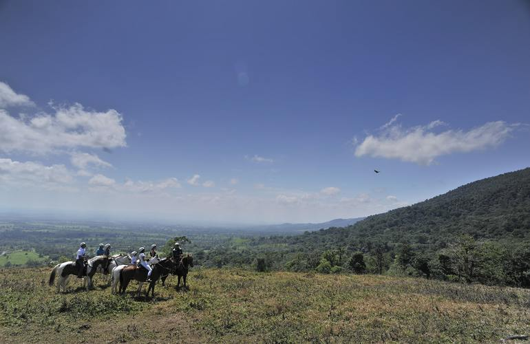 best private horseback ride at the base of the Arenal Volcano