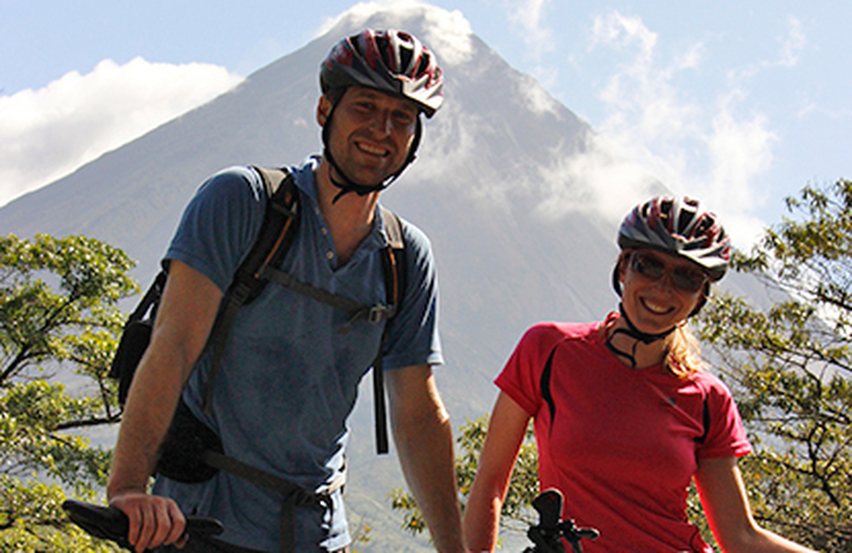Single track madness private tour is great for couples to push themselves to the limit.