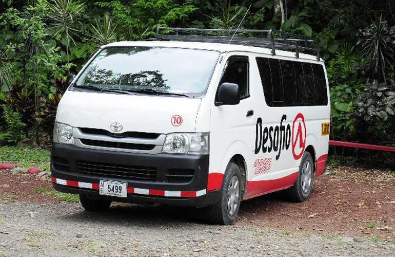 Private transportation La Fortuna Arenal Volcano and Ciudad Quesada