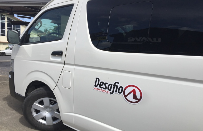 San Jose to La Paz Peace Lodge private transfer Desafio.