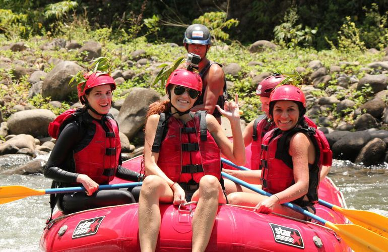 You will love rafting in Costa Rica!