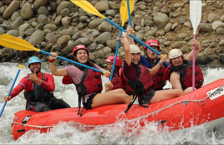 San Jose One Day Tour Rafting Sarapiqui River 3-4