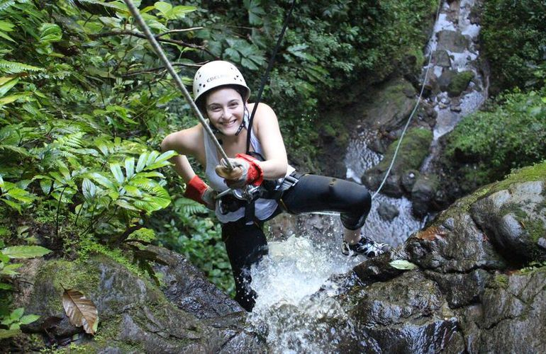 See the Arenal Volcano from San Jose and go canyoning in the Lost Canyon.