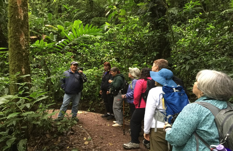It is important to plant trees in Costa Rica.