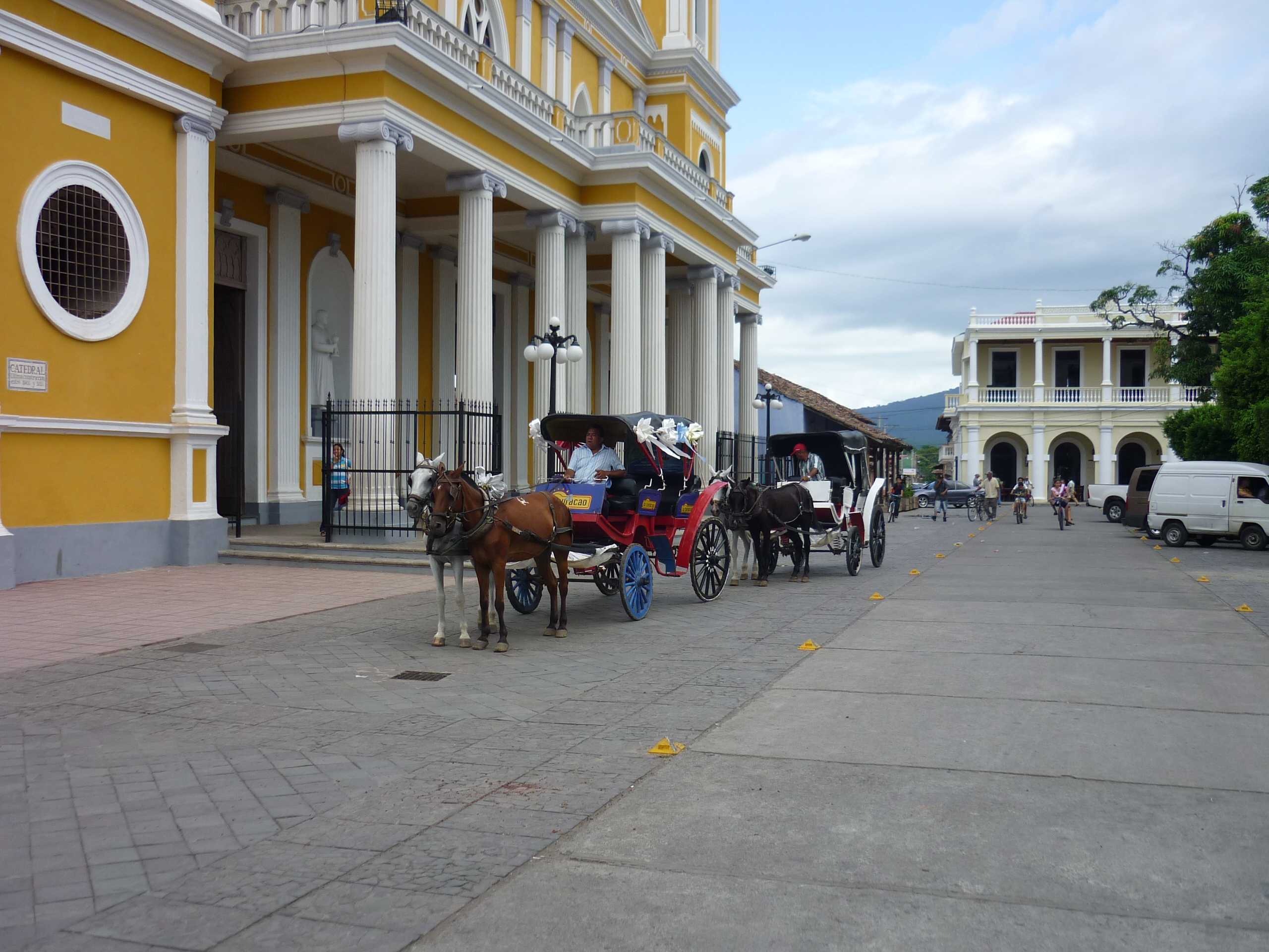 The impressive colonial city of Granada